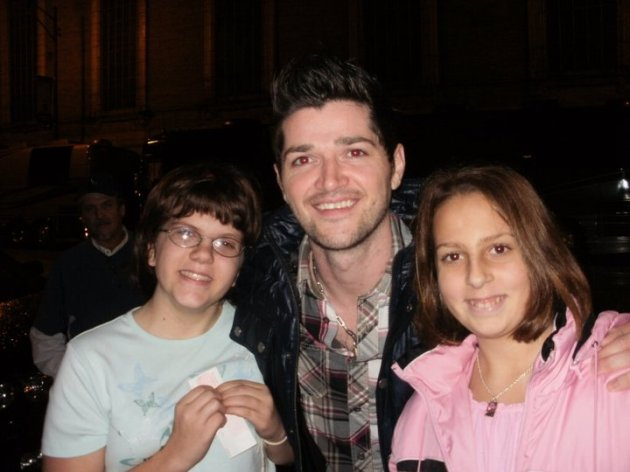 Danny O'Donoghue and my babies.